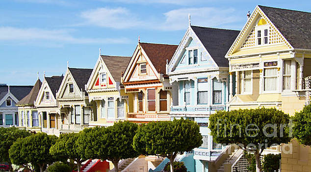 Painted Ladies in San Francisco by ELITE IMAGE photography By Chad McDermott