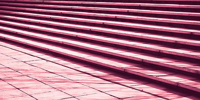 Stone steps by Tom Gowanlock