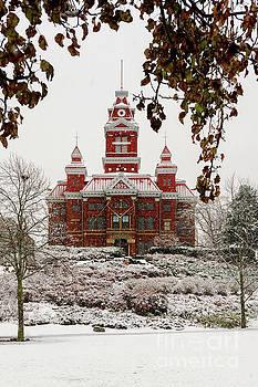 Snowy Whatcom Museum in Bellingham, WA by Paul Conrad