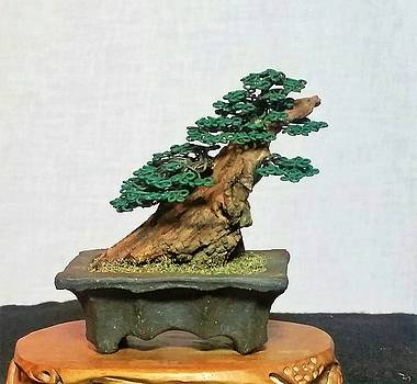 #169 Very Rugged Wire Tree Sculpture by Ricks Tree Art