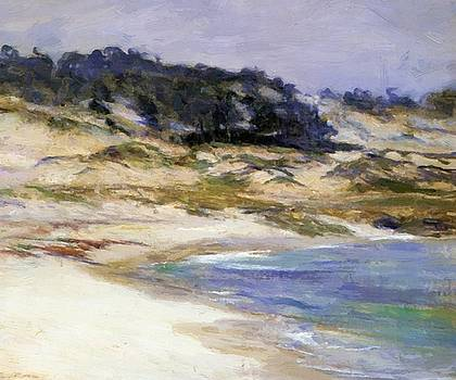 17 Mile Drive 1918 by Guy Rose