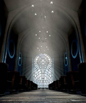 Stained Glass Window Church by Allan Swart