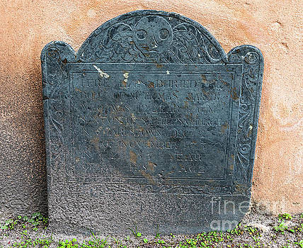 1737 Tombstone by Dale Powell