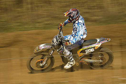 Angel Ciesniarska - motocross