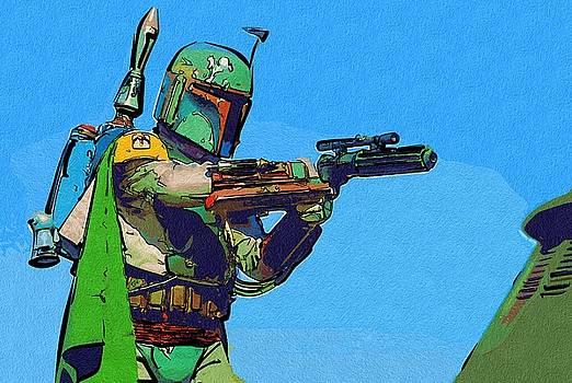 Star Wars Episode 6 Poster by Larry Jones