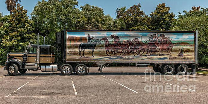 18 wheels of Trucking by Dale Powell