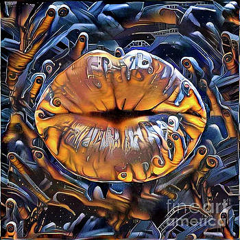 Kissing Lips by Amy Cicconi