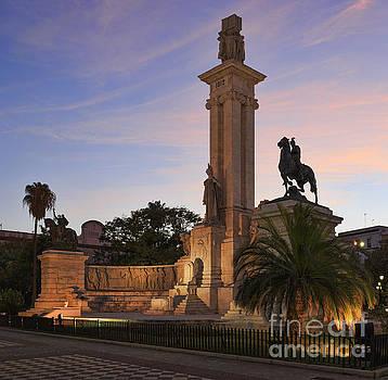 1812 Constitution Centennial Memorial Spain Cadiz Spain by Pablo Avanzini