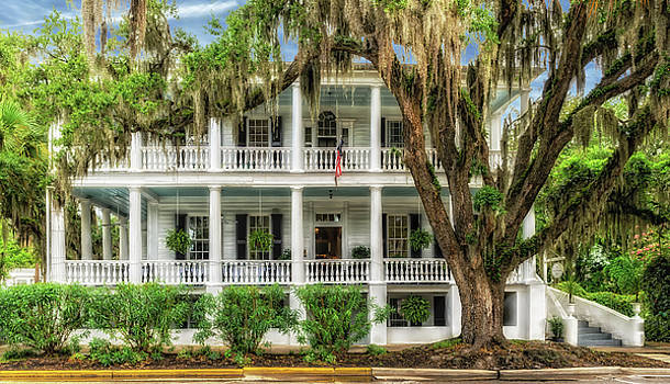 1820 Historic Bed And Breakfast South Carolina  -  013-6178 by Frank J Benz