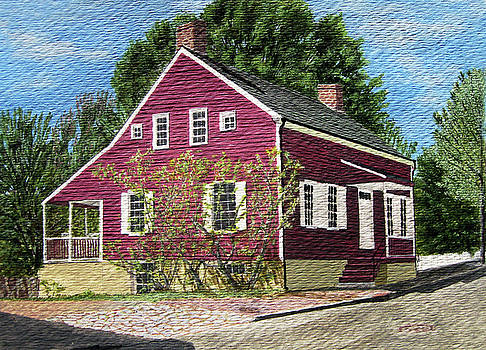 1831 historical Denke house in old sale of NC by Jason Zhang