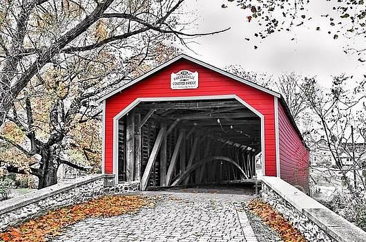 1839 Kreidersville Bridge by DJ Florek