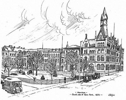 1870 Gore Park Hamilton Ontario by John Cullen