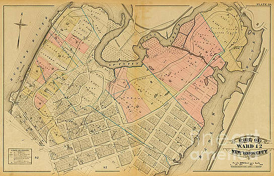 1879 Inwood Map  by Cole Thompson