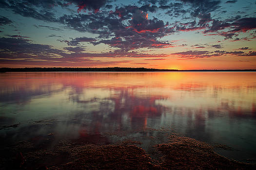 Lake Sunset by Ricky Barnard