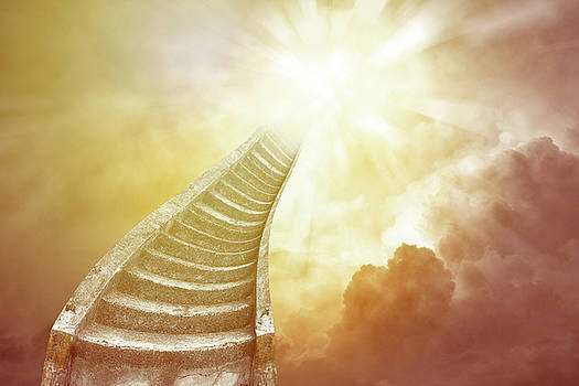 Stairway to heaven 1 by Les Cunliffe