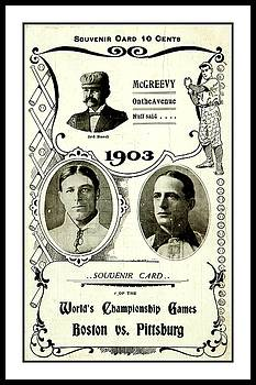 Peter Gumaer Ogden Collection - 1903 World Series Poster