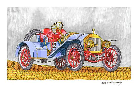 Jack Pumphrey - 1907 Autocar