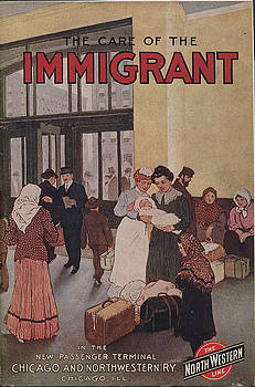 Chicago and North Western Historical Society - The Care of the Immigrant in the New Passenger Terminal