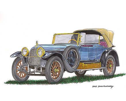 Jack Pumphrey - 1917 Crane Simplex Dual Cowl Phaeton