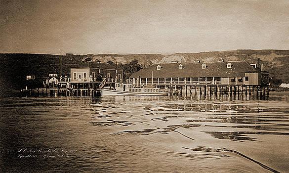 Connie Fox - 1917 U. S. Navy Barracks Point Loma World War I