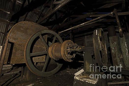Keith Kapple - 1920 Superior oilfield engine pump house II