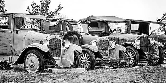 1920s Vintage Cars by David Millenheft