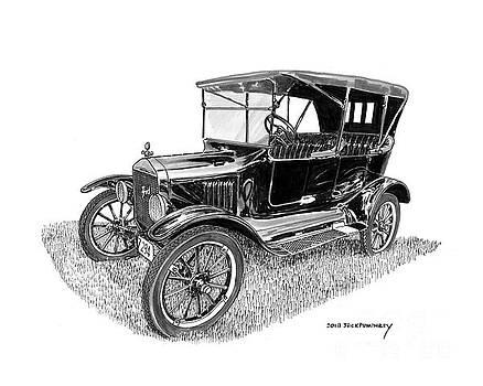 Jack Pumphrey - 1922 Ford Model T Touring Sedan