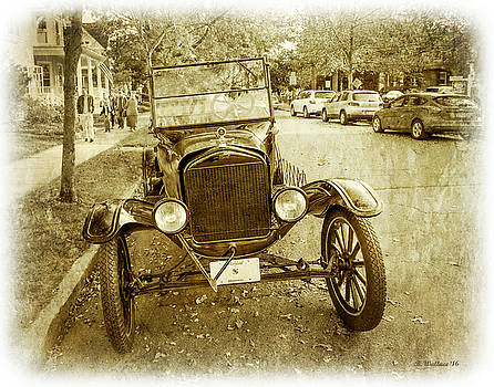 1923 Ford Model T Roadster - Sepia by Brian Wallace