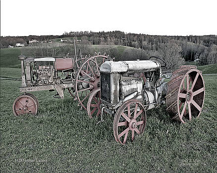 1923 Fordson Tractors by Mark Allen