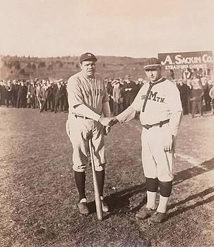 1926 - Babe Ruth in Iron Mountain Michigan by Alan Kurtz