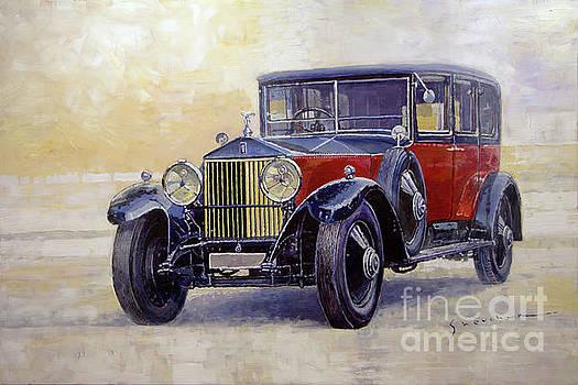 1927 Rolls-Royce 40-50 Phantom 1  by Yuriy Shevchuk