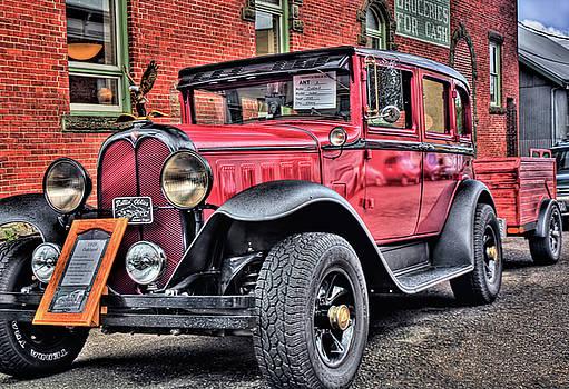 1929 Antique Sedan by Tyra OBryant