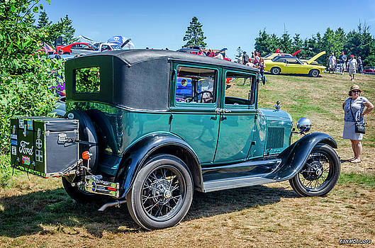 1929 Ford Model A sedan by Ken Morris
