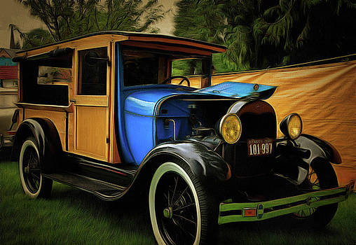 Thom Zehrfeld - 1929 Model A Ford Woody Truck