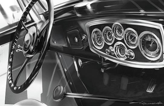 1929 Studebaker Interior by Uli Gonzalez
