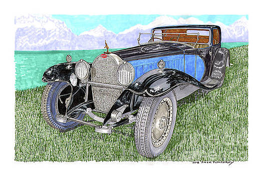Jack Pumphrey - 1929 Type 41 Bugatti Royal
