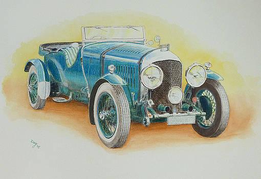 1930s BENTLEY SPORTS CAR by David Godbolt