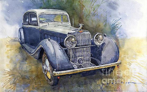 1938 Hispano Suiza J12 by Yuriy Shevchuk