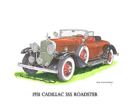 1931 Cadillac 355 V 8 Roadster by Jack Pumphrey