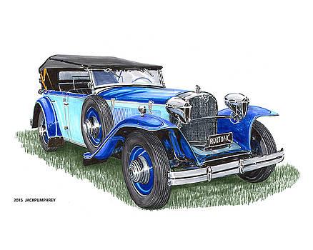 Jack Pumphrey - Classic 1931 Ruxton C Dual Cowl Phaeton