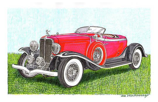 Jack Pumphrey - 1932 Auburn Speedster 8 100