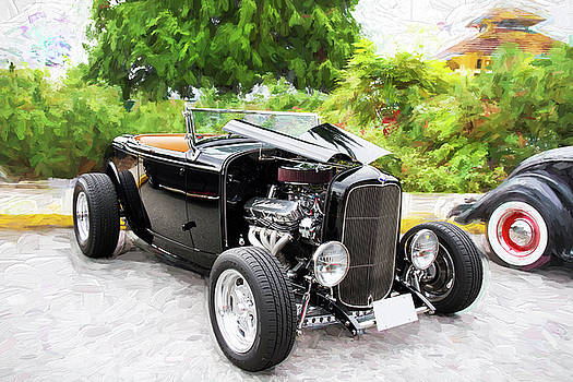 Peggy Collins - 1932 Ford Roadster