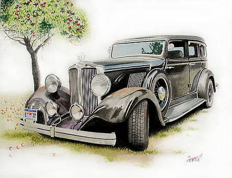 1932 Hupmobile by Ferrel Cordle