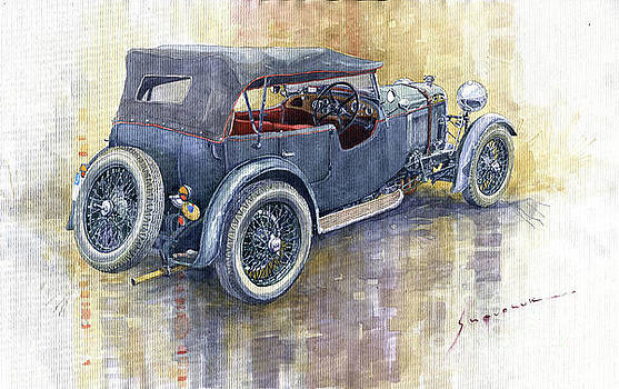1932 Lagonda Low Chassis 2 Litre Supercharged  by Yuriy Shevchuk