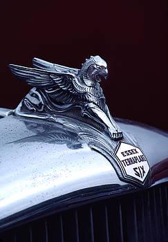 Carol Leigh - 1933 Hudson Essex Terraplane Griffin Hood Ornament