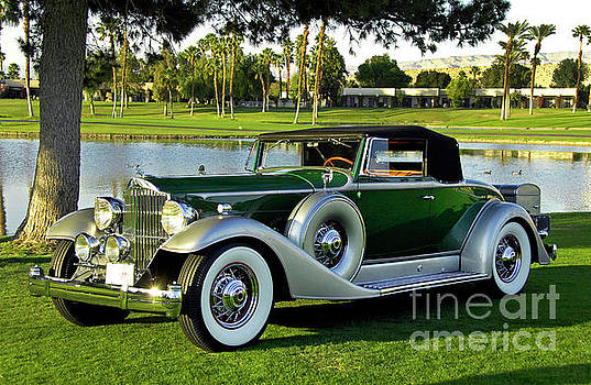 1933 Packard 1005 Convertible Coupe by Howard Koby