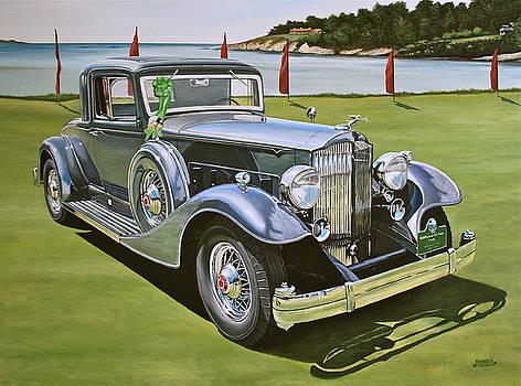1933 Packard 12 Coupe by Branden Hochstetler