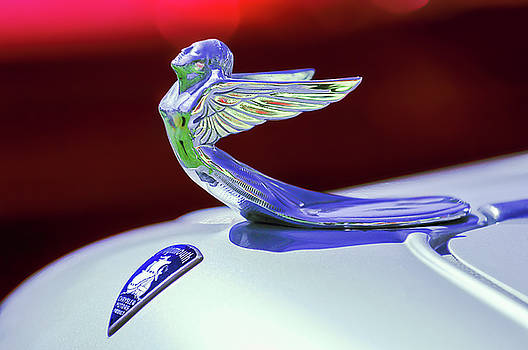 Jill Reger - 1933 Plymouth Hood Ornament -0121rc