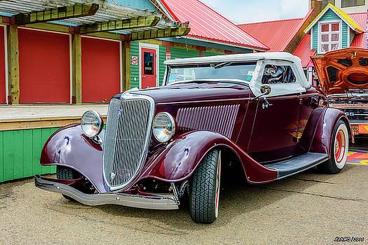 1934 Ford roadster hot rod by Ken Morris