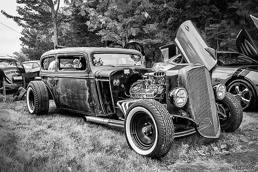 1935 Chevy sedan rat rod by Ken Morris